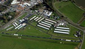 Harvey Field aerial view