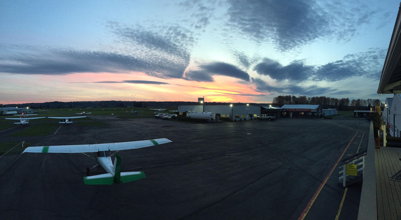 Sunset at Harvey