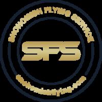 SFS Badge Logo Gold Color